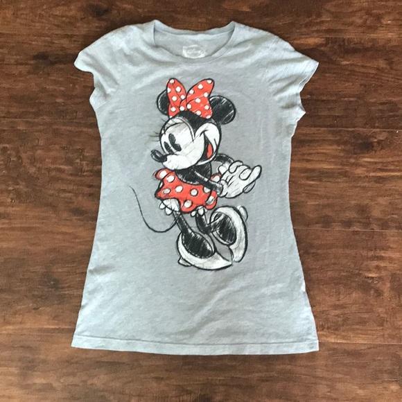 6cd8412c Disney Tops | Minnie Mouse Tshirt Fits More Like Small | Poshmark